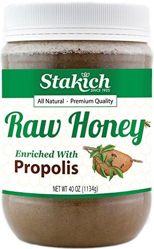 Stakich PROPOLIS Enriched HONEY 40 OZ product image