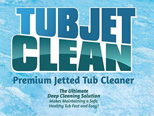 Jetted Tub Cleaner - Easy, Safe, Concentrated Self Cleaning Bath Tub Jet and Plumbing System Cleaner for Your Hot Tub, Whirlpool, Spa, or Jacuzzi - Premium Formula - 64 cleanings (1 Gallon Bottle) by Jet Tub Clean (Image #1)