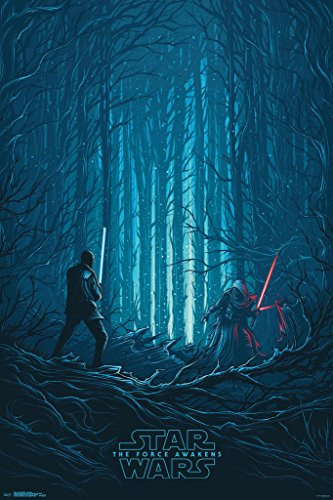 Trends International Star Wars The Force Awakens Standoff Movie Poster 24x36 inch