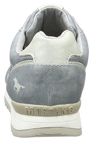 Mustang Ladies 1241-301-852 Sneakers Blu (852 Cielo)