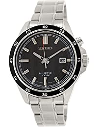 Seiko Men's SKA641 Silver Stainless-Steel Automatic Watch