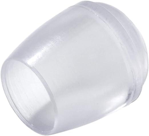 Schtuzkappen Rohrkappen /Ø 10 mm Schwarz Kappen 16 Stuhlbeinkappen /Ø 10-32 mm Stuhlgleiter M/öbelgleiter Rohrabdeckung Fu/ßkappen Gleitkappen