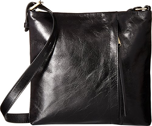 Hobo Women's Vintage Hide Drifter Crossbody Bag (Black) Hide Hobo