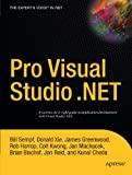 Pro Visual Studio . NET, Donald Xie, 1590593685