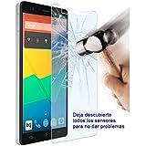 Evess Protector Pantalla Cristal Templado BQ Aquaris E4 Maxima Proteccion Premium