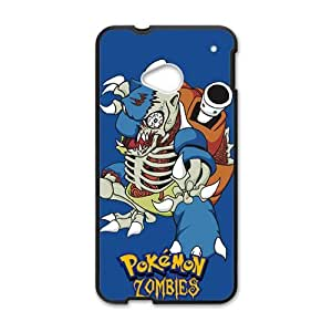 Pokemon Pocket Monster Black HTC M7 case