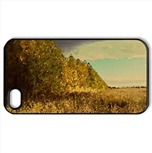 Birch Tree Forest, Autumn Watercolor style Cover iPhone 4 and 4S Case (Autumn Watercolor style Cover iPhone 4 and 4S Case)