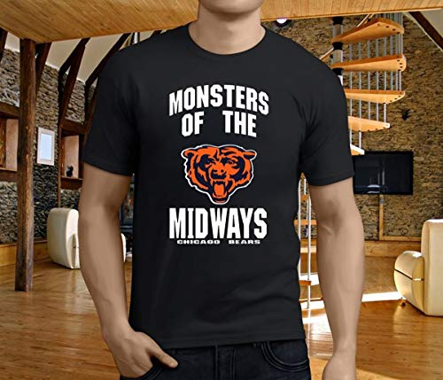 Monsters Of The Midway Chicago Bears shirt, Short Sleeves Shirt, Unisex Hoodie, Sweatshirt For Mens Womens Ladies Kids.