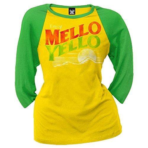 mello-yello-womens-distressed-logo-juniors-raglan-shirt-small-yellow
