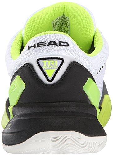 HEAD Revolt Pro Zapatilla de Tenis Caballero Gris/Verde