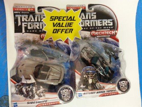 Transformers Mechtech Sideswipe Armor Topspin 2 Pack/Sideswipe/Armor Topspin