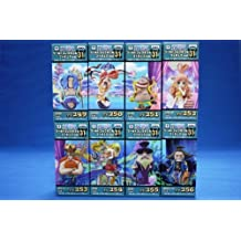 One Piece World Collectable Figure vol.31 set all eight species (japan import)