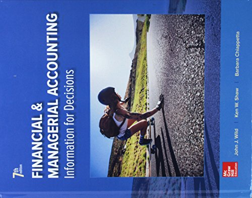 GEN COMBO FINANCIAL AND MANAGERIAL ACCOUNTING; CONNECT ACCESS CARD