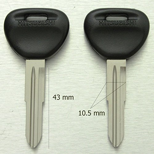 Mitsubishi GTO Magna Montero Pajero Starwagon Verada Triton L200 MK blank key.