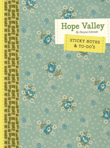 Denyse Schmidt Quilts - Hope Valley Sticky Notes & To-do's