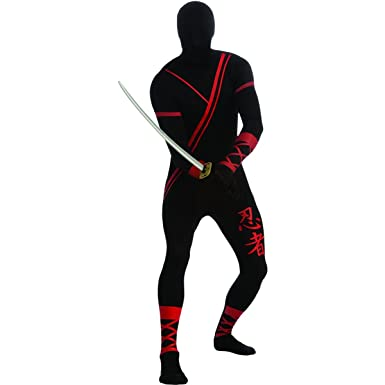 Ninja 2nd Skin Body Suit Adult Costume - Medium