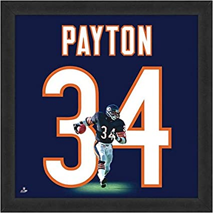 Image Unavailable. Image not available for. Color  Chicago Bears Walter  Payton  34 Players Jersey UniFrame 094ced147