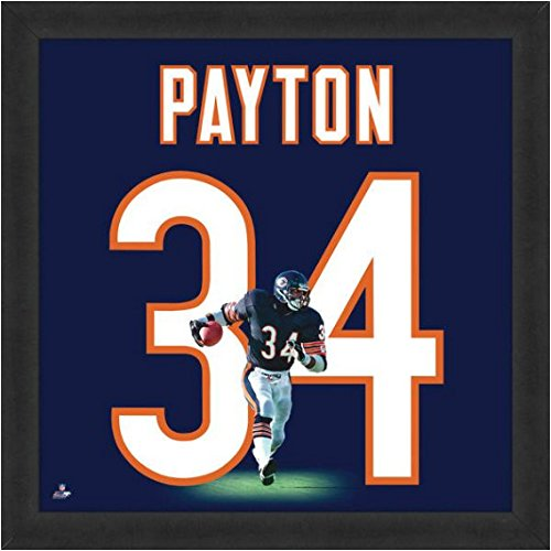 36aed2c6d Amazon.com  Chicago Bears Walter Payton  34 Players Jersey UniFrame  Sports  Collectibles