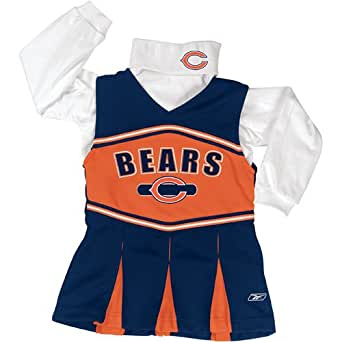 Chicago Bears Kids Cheerleader Outfit