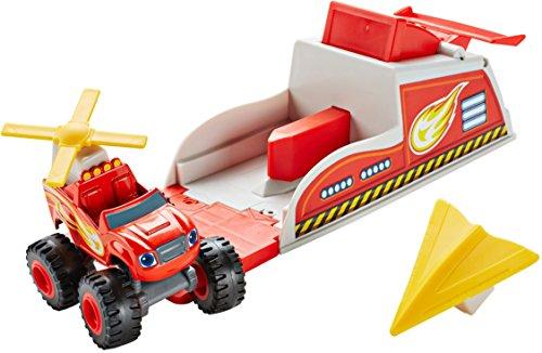 [Fisher-Price Nickelodeon Blaze & the Monster Machines, Blaze Turbo Launcher Playset] (Turbo Launcher)