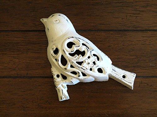 cast iron bird branch wall art - 3