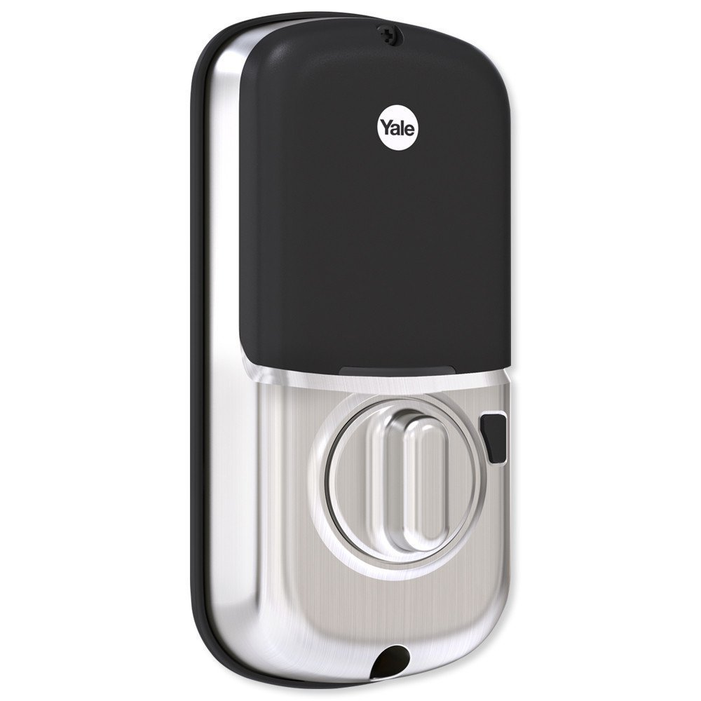 Yale Assure Lock SL Key Free Touchscreen Deadbolt with Z-Wave Plus in Satin Nickel - Works with Samsung SmartThings, Wink, Iris, Honeywell and more