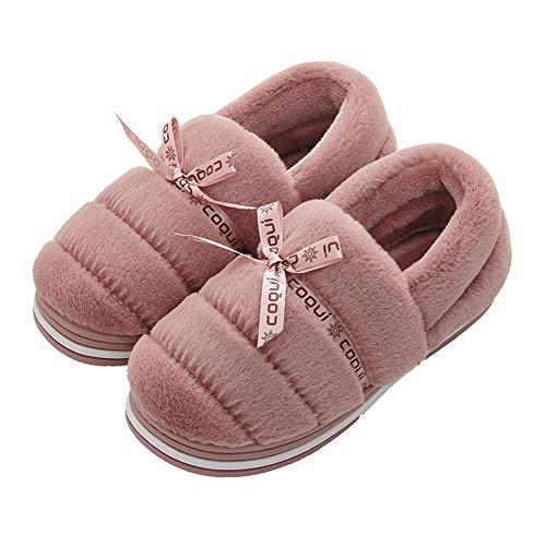 Xiu Rossiccio Marrone Da Slip Con Casa Ciabatte,pantofole In A Coppia Cotone,borsa Calda Donna rrUf7Pq