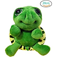 Plush Pillow Cushion Kawaii Big Eyes Tummy Turtle Doll Pendant Toy Gift Stuffed Sea Tortoise Cute Animal Pet