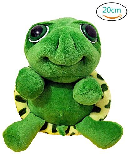 Plush Pillow Cushion Kawaii Big Eyes Tummy Turtle Doll Pendant Toy Gift Stuffed Sea Tortoise Cute Animal (Big Turtle)