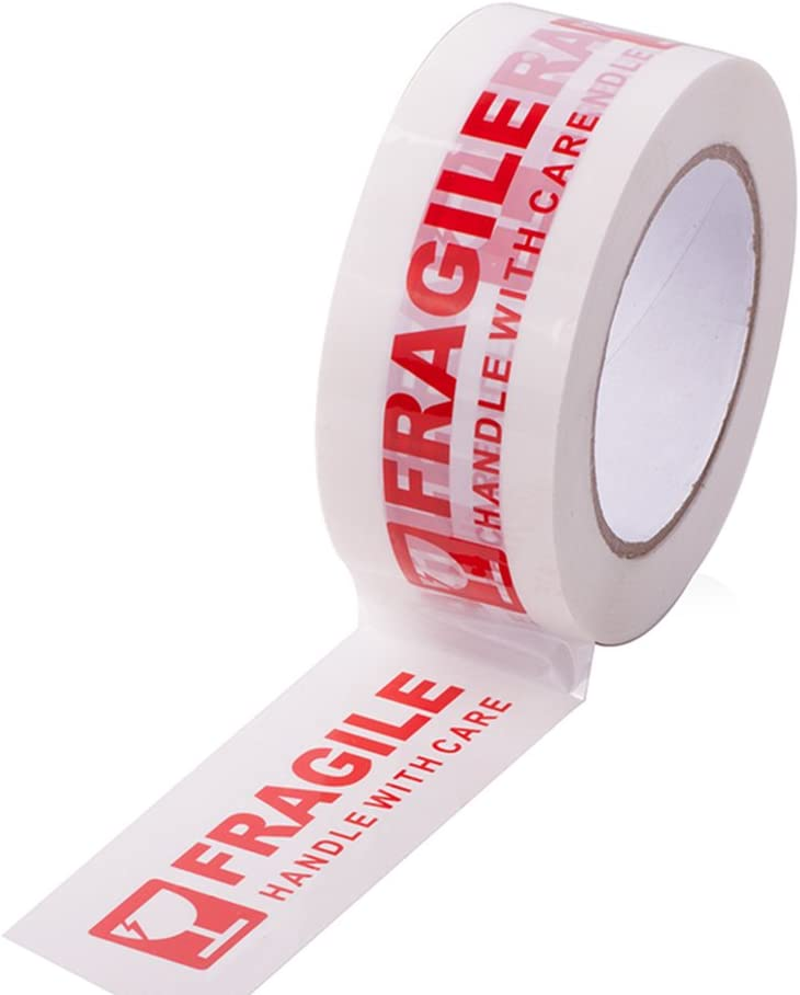 Parcel Tape Clear,Brown,Fragile,Handle with care,Duct,Masking Tape