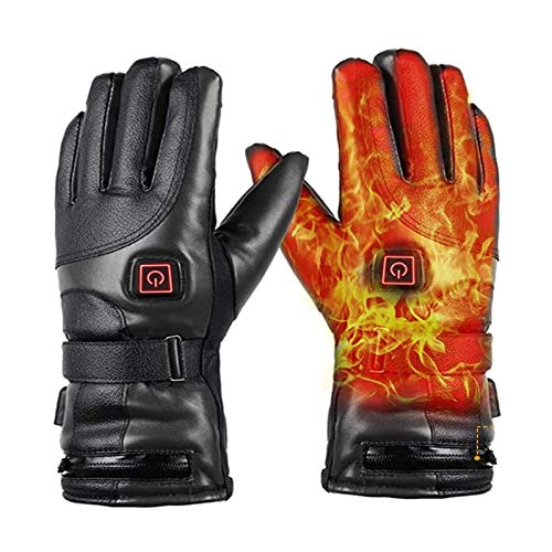 Verwarmde Handschoenen Voor Artritis, Batterij Voor Mannen Dames Oplaadbaar Waterdicht 3 Verwarming Temperatuur…