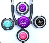 personalized stethoscope - Personalized Stethoscope Tag - Script Name, Monogram Standard or Yoke Steth ID in 10 Colors for Nurse, Doctor