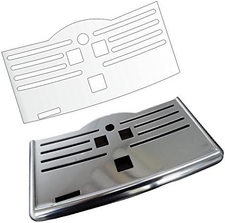 Abtropfblech Kratzschutz Folie geeignet f/ür SAECO Incanto Pico BaristoPico Baristo Deluxe Incanto Deluxe Series 5000