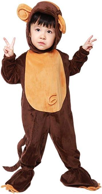 Gbcyp Kid Mono Disfraz niño niña Pijama Invierno Animal cálido ...