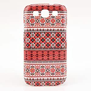 Nsaneoo - Snowflake Tribal Tattoo Maya Pattern Case Cover for Galaxy 3 I9300