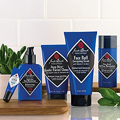 JACK BLACK – Double-Duty Face Moisturizer – SPF 20, Broad-Spectrum Sunscreen, Lasting Hydration, Contains Potent Antioxidants and Vitamins, Organic Ingredients, Cruelty-free and Vegan