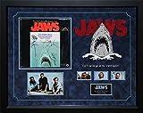 Jaws - Signed Movie Soundtrack Vinyl Album LP - Custom Framed Photo Collage