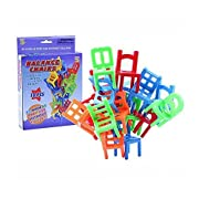 Amazon Lightning Deal 87% claimed: Trekbest Balance Chairs Game Toys - 18 Chair Toys Stacking Intelligence Multiplayer Parent-Child Game as Birthday Gift