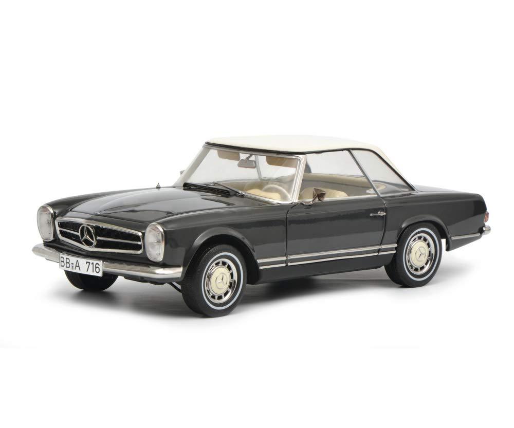 Mercedes Benz 280 SL Dark Gray Limited Edition to 750 Pieces Worldwide 1/18 Diecast Model Car by Schuco 450035100