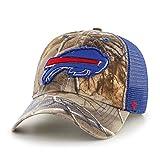 NFL Buffalo Bills Realtree Huntsman Closer Stretch Fit Hat, Large/X-Large, Realtree Camo