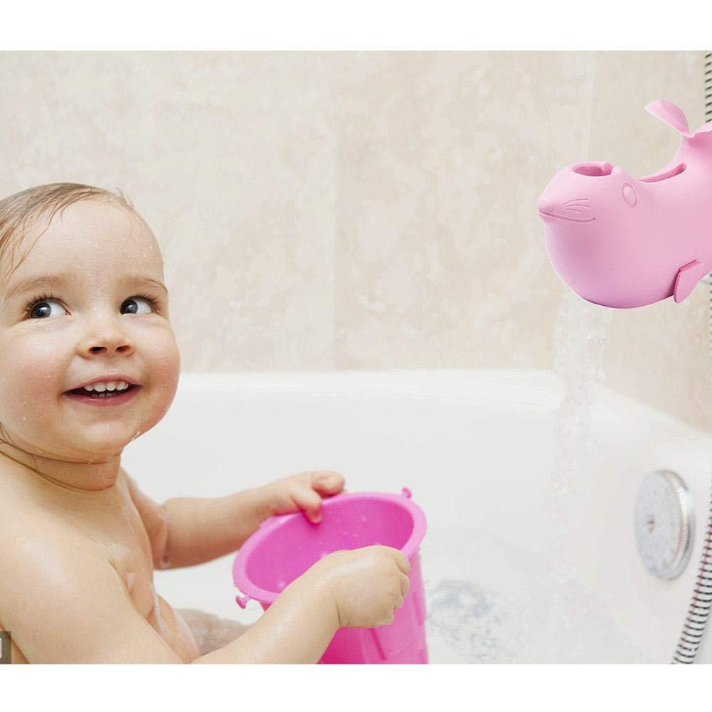 per Protector para Grifo de Ba/ñera y Ducha Cubierta de Seguridad para Cabezas y Nar/íz para Beb/és Cobertura Silicona Suave