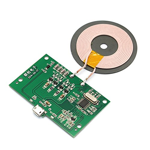 Andoer Qi Wireless Charger PCBA Circuit Board mit Qi Standard-Coil DIY Wireless Charging Zubehör Micro-USB-Port