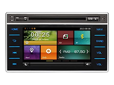 Amazon.com: Cartouch(R) 7 inches Car GPS Navigation System Car DVD Player For Toyota Hilux 2015,2016 with Bluetooth Microphone Mp3 Radio Mirror Link: GPS & ...