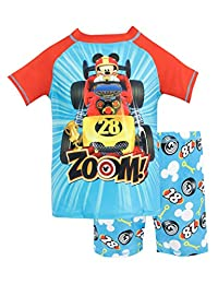 Disney Boys' Mcikey and the Roadster Racers Two Piece Swim Set