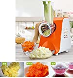 Jian Ya Na 220V 150W Multifunctional Salad Master Food Processor Vegetable Cutter for Kitchen Vegetable Slicer Fruit Salad Onion Electric Shredder Chopper Cutter