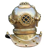 Collectibles Buy Nautical Antique Mini Deep Sea Divers Helmet Home Decorative Item Brass Finish