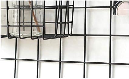 Estantes de pared MEIDUO Malla de Malla de Alambre Foto Pared Foto de Archivo Red atrevida para estantes Estantes Exhibición de exposición en la Pared/Decoración de Pared/Organizador Muy Durable: Amazon.es: Hogar