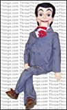 Slappy From Goosebumps Deluxe Upgrade Ventriloquist Dummy by ThrowThings.com