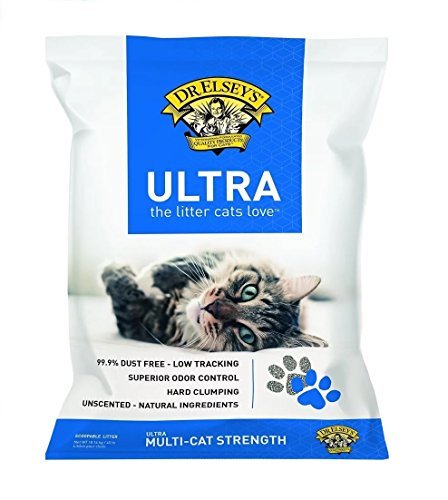 Dr. Elsey's Cat Ultra Premium Clumping Cat Litter, 40 pound