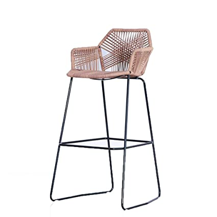 Amazon.com: XINGPING Wicker Chair High Table and Chairs Outdoor Bar ...